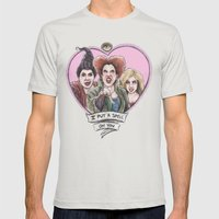 It's all a bunch of Hocus Pocus Mens Fitted Tee Silver SMALL