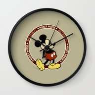Mickey Mouse Vintage Wall Clock