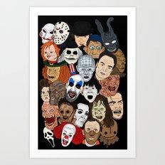 Icons Art Print