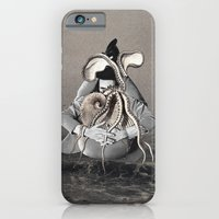 iPhone Cases featuring A Thought Has You by Eugenia Loli