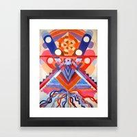 Decieving Framed Art Print