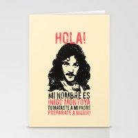 Inigo Montoya Stationery Cards