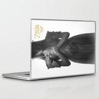 zelda Laptop & iPad Skins featuring Princess Zelda by ImmarArt