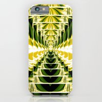 Abstract.Green,Yellow,Black,White,Lime. iPhone 6 Slim Case