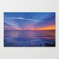Fallstreak Sunset Canvas Print