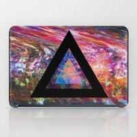 Marble Triangle iPad Case