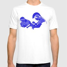 Alcinous Mens Fitted Tee White SMALL