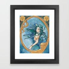 Princess Neptune Framed Art Print