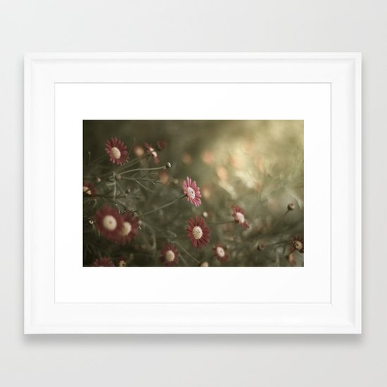 something to look forward to Framed Art Print