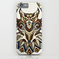 iPhone & iPod Case featuring Owl // Animal Poker by Andreas Preis