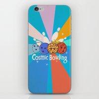 Cosmic Bowling iPhone & iPod Skin