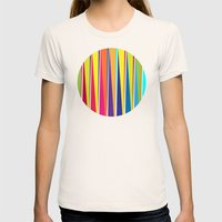 LIGHT Womens Fitted Tee Natural SMALL