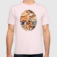 Glitch Pin-Up Redux: Nat… Mens Fitted Tee Light Pink SMALL