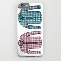 Flannel shirts iPhone 6 Slim Case