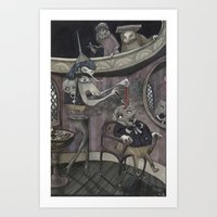 The Stone Of Folly Art Print