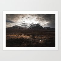 Drive From Loch Ness Art Print