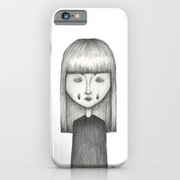iPhone & iPod Case featuring Stretched Girl by Ethan Cherry
