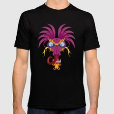 Dragon Black SMALL Mens Fitted Tee