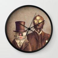 Victorian Robots  Wall Clock