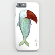 Fish With Beard iPhone 6 Slim Case