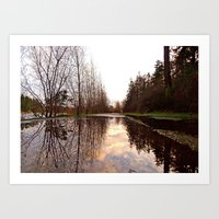 Northwest Reflection Art Print