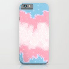 Trans Pride Flag Galaxy Slim Case iPhone 6s
