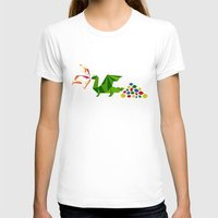dragon T-shirts featuring dragon by pixel.pwn | AK