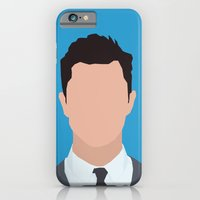 iPhone & iPod Case featuring Joseph Gordon-Levitt Portrait  by RoarsAdams