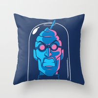 Mr. Brain Freeze Throw Pillow