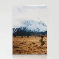 Peaceful New Zealand Mou… Stationery Cards