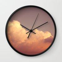 Skies 03 Wall Clock