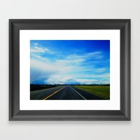 The Country Framed Art Print