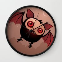 RedEye The Vampire Bat B… Wall Clock
