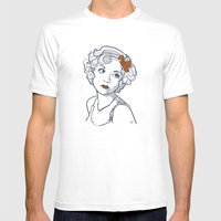 1930's Actress Alice White  Mens Fitted Tee White SMALL