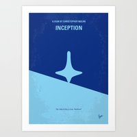 No240 My Inception Minim… Art Print