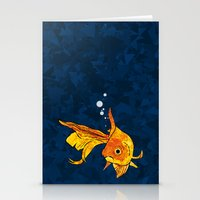 A Fish! A Fish! A Fishy.… Stationery Cards