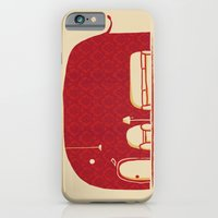 iPhone Cases featuring Elephanticus Roomious by Budi Kwan