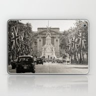 Laptop & iPad Skin featuring The Mall - London by Julio O. Herrmann
