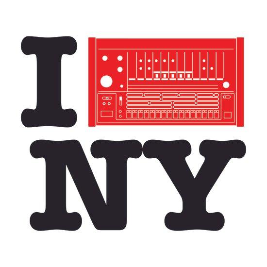 I 8OH8 NY Art Print