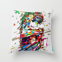6th Anniversary Throw Pillow