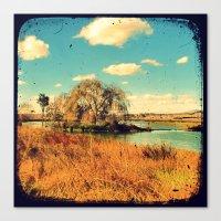 Willow Tree - Through Th… Canvas Print