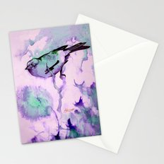 Finch Bird Stationery Cards