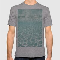 Under Water Light Mens Fitted Tee Athletic Grey SMALL