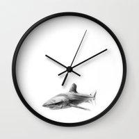 Shark I Wall Clock
