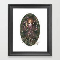opheliac Framed Art Print