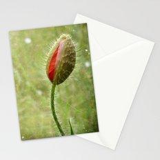 Shy Poppy  Stationery Cards