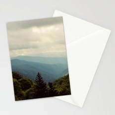 THE LIGHT THROUGH THE CLOUDS Stationery Cards