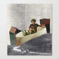 The Industrial Canvas Print