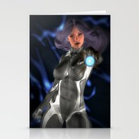 Sci -Fi Flame Stationery Cards