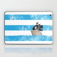 Pirates Love Stripes Laptop & iPad Skin